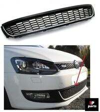 NEW VW POLO 6R FRONT BUMPER LOWER CENTRE GRILLE CHROME TRIM 2009-2014 6R0853671
