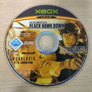XBOX DISC ONLY - Delta Force: Black Hawk Down