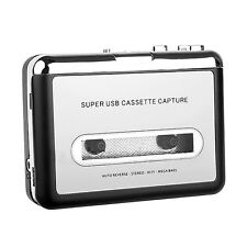 Tape to PC MP3 Ipod CD USB Cassette-to-MP3 Converter Capture Audio Music Player