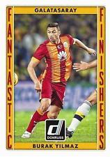 2015 Donruss Soccer 'Fantastic Finishers' #3 Burak Yilmaz Galatasaray Turkey