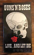 Guns 'n Roses - Live and let Die - 2 CD Box Set