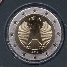 2 Euro Allemagne 2017 J Hambourg BU FDC provenant coffret 31000 exemplaires - Ge