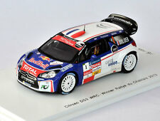 SPARK Citroen DS3 WRC #1 Winner Rallye du Chablais 2013 S. Loeb SF068 1/43