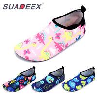 SUADEEX Childrens Quick Dry Aqua Socks Boys Girls Swim Water Beach Pool Shoes