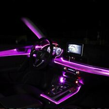 5M LED Interni Auto Cruscotto Pannello Porta Ambiente Luce Strip Atmosphere Rosa