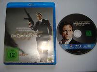 ⭐⭐⭐⭐ EIN QUANTUM TROST ⭐⭐ James Bond 007 ⭐⭐ Daniel Craig ⭐⭐ Blu Ray FSK 12 ⭐⭐⭐⭐