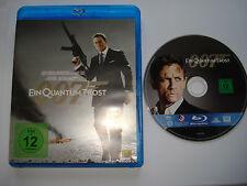 EIN QUANTUM TROST  __  James Bond 007  __  Daniel Craig  __  Blu Ray FSK 12