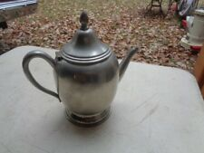 Vintage Liberty Solid Pewter Collectible Tea Pot