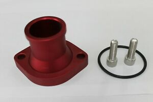 FORD CLEVELAND STRAIGHT THERMOSTAT HOUSING WATER NECK RED
