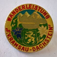 Wanderbrosche Hutschmuck Anstecknadel Souvenir Ramsau Dachstein 1 vintage