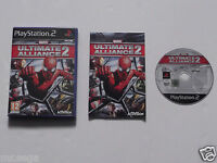 MARVEL ULTIMATE ALLIANCE 2 for PLAYSTATION 2 'VERY RARE & HARD TO FIND'