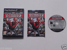 MARVEL ULTIMATE ALLIANCE 2 Pour PLAYSTATION 2 ont RY rare et difficile à trouver""