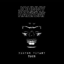CD de musique album pop rock Johnny Hallyday
