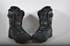 2016 NIB MEN'S RIDE TRIAD SNOWBOARD BOOTS $230 9 camo insulated flex light tech