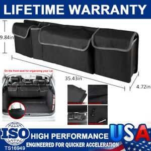 High Capacity Multiuse Car Trunk Seat Back Organizer Bag Interior Accessories US
