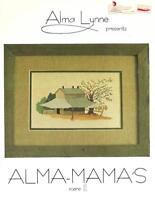 Alma Lynne ALMA-MAMA'S Scene II 1980 Vintage Cross Stitch Pattern Booklet