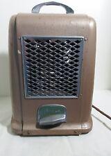 Vintage Art Deco Arvin model 223 brown electric space heater