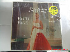 "PATTI PAGE -(LP)- THIS IS MY SONG   MY SONGS  ""THE TENNESSEE WALTZ""-MERCURY-1955"