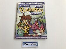 Pokémon L'Ultime Livre De Codes - Nintendo Game Boy - FR