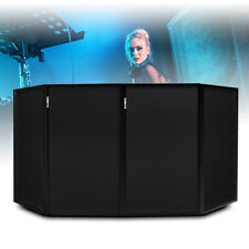 More details for vonyx db2 black light foldable disco dj lighting screen 4 panel deck stand booth