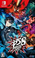 Persona 5 Scramble The Phantom Strikers Nintendo Switch 2020 Game soft  Japanese