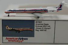 Herpa Wings 1:500 American Eagle Embraer ERJ-145 Susan Komen (517317) Lim. 1200