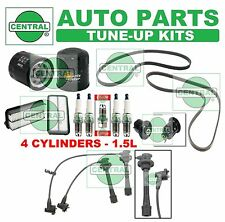 96-98 TOYOTA PASEO: SPARK PLUG BELT WIRE SET; AIR FUEL & OIL FILTER