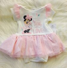 Disney Baby Minnie Mouse Pink Tutu Dress 12-18 Months New With Tags Nwt