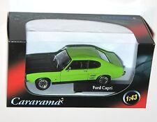 Cararama - FORD CAPRI MkI (Green/Black) Model Scale 1:43