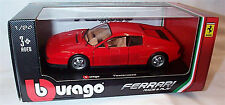 Ferrari Testarossa Red 1-24 Scale burago Model New in box