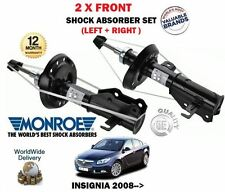 FOR VAUXHALL INSIGNIA 2008->NEW 2 X FRONT LEFT+ RIGHT SHOCK ABSORBER SHOCKER SET