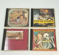 Lot of 4 CDs Best of Arlo Guthrie, Grateful Dead, Steve Earle & The Jayhawks