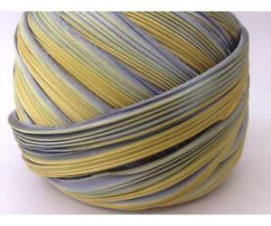 New  Shibori Silk Hand Dyed  - Gold on Silver
