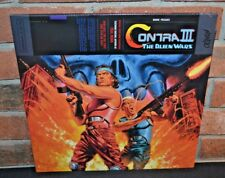 CONTRA III 3: ALIEN WARS - Game Soundtrack, Ltd 1st Press COLORED VINYL LP New!