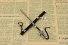 New Japan Anime Attack on Titan Blade Weapon Key Chain Eren Jaeger Sword keyring