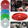 Car Motorcycle Bike Wheel Tire Decal Sticker Rim Trim Protector Stripe Tape US