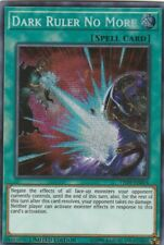 YUGIOH HOLO CARD DARK RULER NO MORE TN19-EN014 LIMITED EDITION