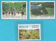 Finnland+Aland aus 1999 ** postfrisch MiNr.1474-1475, 157 - Europa: Nationalpark