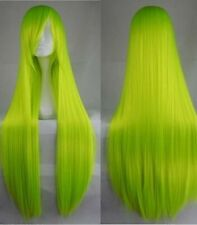 """80cm/32"""" Long straight Cosplay Fashion Wig heat resistant 16 color Free shipping"""