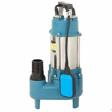 Submersible sewage pumps 1.5 hp sub pump 7128 GPH cast iron impeller 220v 60hz