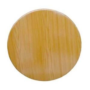 New Pub Bar Table Top Outdoor Heat Resistant Round 700mm Oak