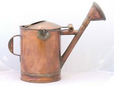 19th Century Antique French Copper Watering Can / Arrosoir Cuivre Garden