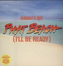 "NAUGHTY BOY Phatt Beach  12"" Ps, 3 Tracks, Club+Uniting Nations Mixes+Radio Edit"