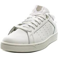 Zapatillas deportivas de mujer de tacón bajo (menos de 2,5 cm) de color principal blanco de piel