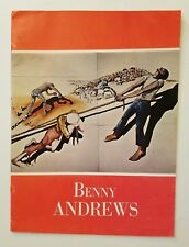 Benny Andrews: Trash, ACA Galleries, April-May 1972, Softcover Catalog