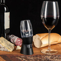 Wine Aerator Decanter Filter | Red White Wine Flavour Enhancer and Stand NEW