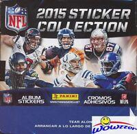 2015 Panini Football Sticker MASSIVE 50 Packs Factory Sealed Box-350 Stickers !!