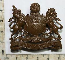 Manchester Regiment OSD Officers bronze Cap badge