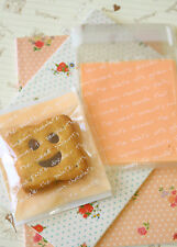 Sweet Words Pink cello cookie bags 20pc plastic bag sweet packaging gift wrap