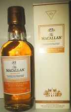 miniature higland single malt scotch whisky macallan amber+box